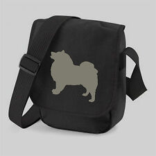 More details for keeshond bag dog bag, mini reporter shoulder bags birthdaymothers day gift