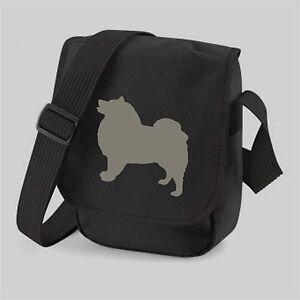 Keeshond Bag Dog Bag, Mini Reporter Shoulder Bags BirthdayMothers Day Gift