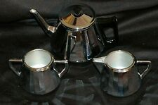 Doric Ware Swan Brand 4 Piece Tea Set Made in England