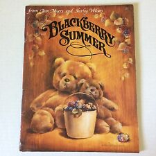 Book Tole Painting Patterns-Instructions BLACKBERRY SUMMER by Myers and Wilson
