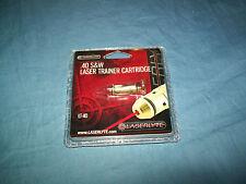 Gun Laser Trainer Cartridge Bullet 40S&W Laserlyte Target Practice Save Ammo