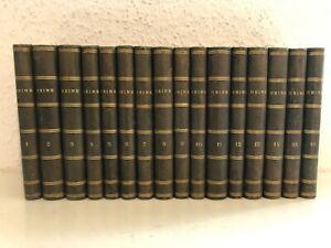 HEINRICH HEINE - Sämmtliche Werke 16 Bde Leder Hoffmann und Campe HH 1873-1874