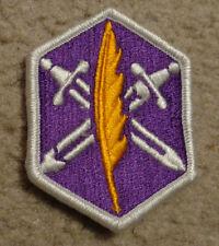 US ARMY PATCH,362ND CIVIL AFFAIRS BRIGADE, OBSOLETE