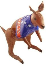 Inflatable Blow Up KANGAROO Fancy Dress Australia Aussie 70cm Party Decorations