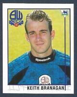 MERLIN-1996-PREMIER LEAGUE 96- #509-BOLTON-MILLWALL-CAMBRIDGE U-KEITH BRANAGAN