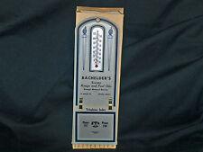 Vintage Bachelders Socony & Range Oils Thermometer & Telephone Index Athol, Mass