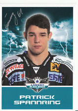 Patrick Spannring Black Wings Linz 2011-12 TOP AK Orig. Sign. Eishockey +A38206