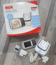 NUK Video-Babyphone Eco Control + Video Gebrauchtes Gerät