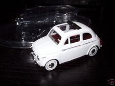 Voiture 1/43 solido FIAT : 500 blanche
