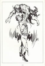 SPACE HEROES PRINT 4 w UNPUBLISHED ARTWORK by Al Williamson & Frank Frazetta