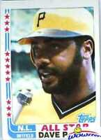 1982 Topps Dave Parker Rare Wrong Back ERROR Card! Vintage over 30 Years Old!
