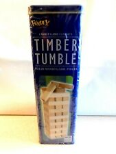 Ideal Timber Tumble in Tin #5985 - Building Toys Fundex New Sealed
