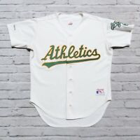 Vintage 90s Oakland Athletics A's Jersey by Rawlings Made in USA Authentic Sewn