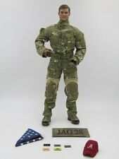 MSEGRU 1/6 Action Figure Mark Forester CCT USAF Multicam Uniform Cap Body Head