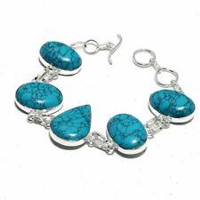 Bracelet Gms Bb-2374 Turquoise Ethnic Jewelry Handmade