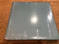 NEW Creative Memories 12 x 12 Limited Exclusive Promo Album Cover Blue Shimmer