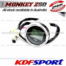 "KDF SPEEDOMETER 50 METER SPEEDO SPEED 8"" RIM FOR HONDA MONKEY Z50 Z50J CT70"