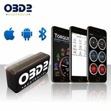 OBD-AUS OBD2 Car Scan Tool Bluetooth Diagnostic Scanner Code Reader ELM327