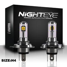 NIGHTEYE H4 Driving Lamp 160W LED Headlight Light Bulbs 6000K Daytime White DRL