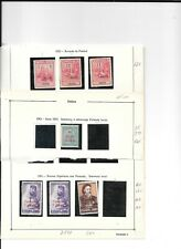 Portuguese India Postage dues , used mounted mint on pages