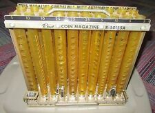 ROWE BCC-8 BILL CHANGER MACHINE COIN TUBE MAGAZINE R-50155A COMPLETE, GUC