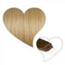 Easy Flip Extensions in mittelblond #16 40 cm 90 Gramm Echthaar Your Hair Secret