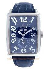 GEVRIL Avenue of Americas 5034 Triple Calendar Swiss Steel Watch Box/Papers NEW