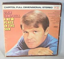 """7"""" Reel Tape- Glen Campbell ~ A New Place in The Sun ~ 3.75 IPS Play Tested R"""