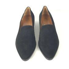 Aquatalia Black Suede Emmaline Loafer Women's size 9.5 NWOB