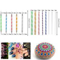 16pcs Mandala Dotting Tool for Rock Painting Kit Dot Art Rock Pen Paint Sten YK