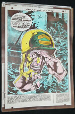 Our Army at War #196 22pg Story Color Guide Joe Kubert's File Copy w COA - 1968
