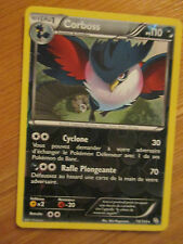 Carte Pokémon Rare Corboss Holo reverse 110 PV 73/124