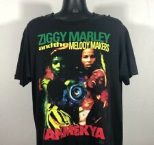 Vintage 1991 Ziggy Marley & The Melody Makers Kozmik Jahmekya Album T Shirt