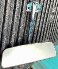 PORSCHE 911 912 ORIGINAL INTERIOR MIRROR WITH STABILIZER BRACE 1965-1967