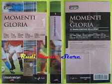 film VHS MOMENTI DI GLORIA NR. 1 La Gazzetta dello Sport  SIGILLATA(F65*) no dvd