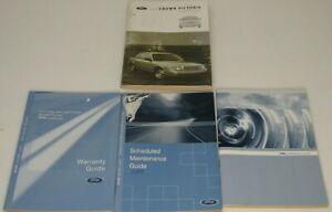 2006 Ford Crown Victoria Owner's Manual Warranty Guide Maintenance Schedule Tire