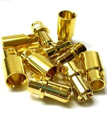 C0801x5 RC Connector 8mm Gold Plated Male and Female Bullet Banana x 5 Set
