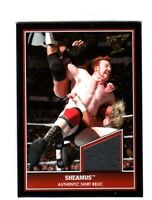 WWE Sheamus 2013 Topps Best of WWE Event Used Shirt Relic Card Grey