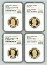 2012 S PRESIDENT DOLLAR PROOF SET $1 NGC PF70 ULTRA CAMEO