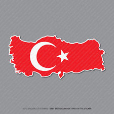 Mapa turco-Turquía Bandera Pegatina-Coche-Laptop-Macbook Notebook - 2943