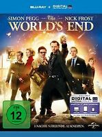 The World's End  (inkl. Digital Ultraviolet) [Blu-ra... | DVD | Zustand sehr gut