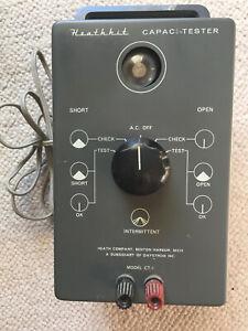 Heathkit CT-1 capacitor testor