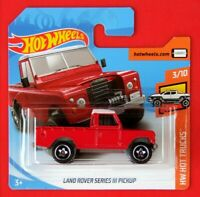 Hot Wheels 2019   LANDROVER SERIES III PICKUP  111/250 NEU&OVP