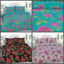 Luxury New MEADOW Polycotton Duvet Cover With Pillowcase Size Single Double King