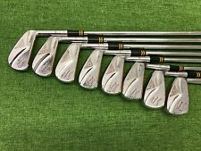 RARE MacGregor Golf TOURNEY COLOKROM M85 Iron Set 2-9 Right Steel REGULAR Used