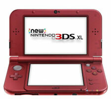 Nintendo 3DS XL Handheld Gaming System - Red - Includes 5 Games & Carrying Case!