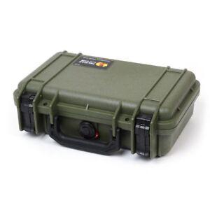Pelican 1170 OD Green & Black case with foam.