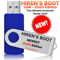 Hiren's BOOT USB Hirens Bootable NEW 2020 Edition Utility Toolkit Disk Recovery