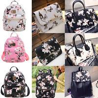 Women Bag Backpack Handbag Ladies Pu Shoulder Tote Satchel Messenger Crossbody