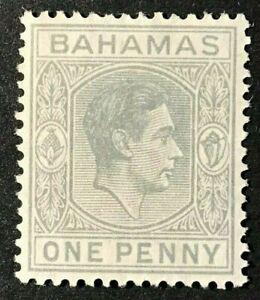 BAHAMAS Sc#101a 1941 King George VI Mint  V VLH mark OG F/VF (1-81)